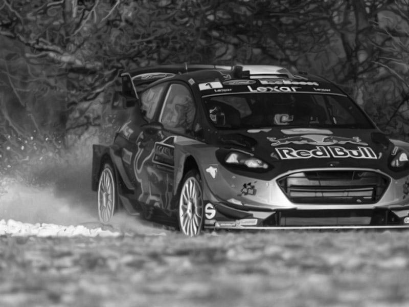 Rallye Monte-Carlo - S. Ogier