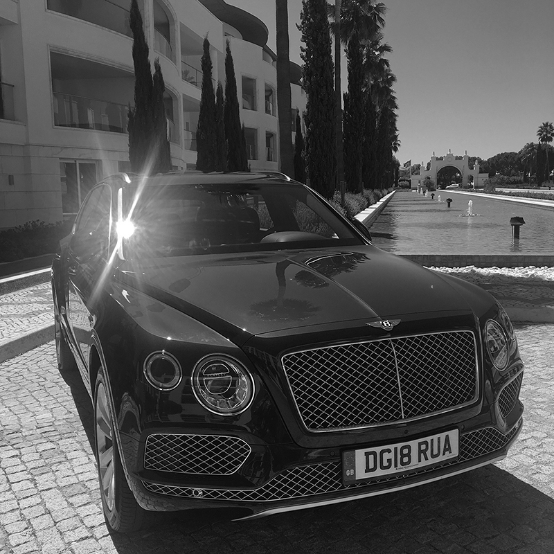 A Day With Bentley. A Day Out Of This World.