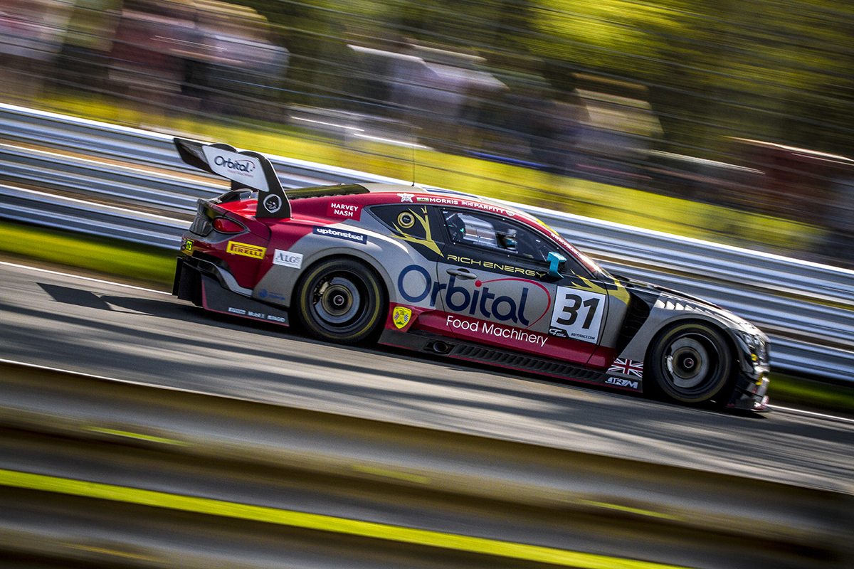 Oulton Park British GT - GT Winners - Photo: Chris Lazenby
