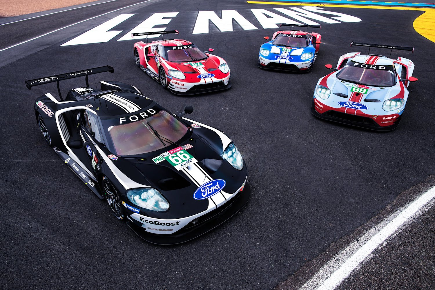 Ford GT fairwell to Le Mans